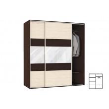 Veno 160 wardrobe with sliding doors