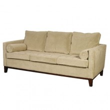 Traditional 3-seater sofa