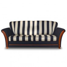 Zebra 2-seater sofa