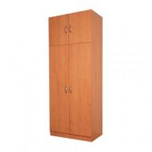 Double wardrobe with extra storage