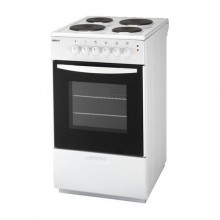 Cooker with electric hobs